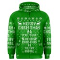 Ugly Christmas Ya Filthy Animal Men s Zipper Hoodie View1