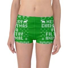 Ugly Christmas Ya Filthy Animal Boyleg Bikini Bottoms