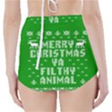 Ugly Christmas Ya Filthy Animal High-Waisted Bikini Bottoms View2
