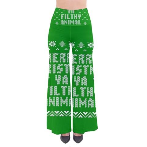 Ugly Christmas Ya Filthy Animal Pants