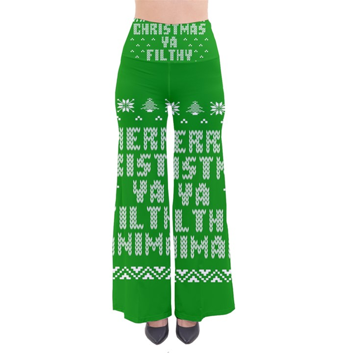 Ugly Christmas Ya Filthy Animal Pants