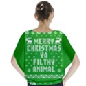 Ugly Christmas Ya Filthy Animal Blouse View2