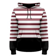 Blocks And Stripes Women s Pullover Hoodie