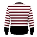 Red Stripes with Black Men s Sweatshirt View2