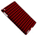 Lumberjack Plaid Fabric Pattern Red Black Apple iPad 3/4 Hardshell Case (Compatible with Smart Cover) View5