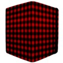 Lumberjack Plaid Fabric Pattern Red Black Apple iPad Mini Flip Case View4