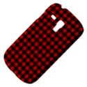 Lumberjack Plaid Fabric Pattern Red Black Samsung Galaxy S3 MINI I8190 Hardshell Case View4