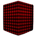 Lumberjack Plaid Fabric Pattern Red Black Samsung Galaxy Tab 10.1  P7500 Flip Case View4