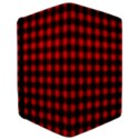 Lumberjack Plaid Fabric Pattern Red Black iPad Mini 2 Flip Cases View3