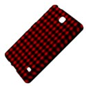 Lumberjack Plaid Fabric Pattern Red Black Samsung Galaxy Tab 4 (7 ) Hardshell Case  View4
