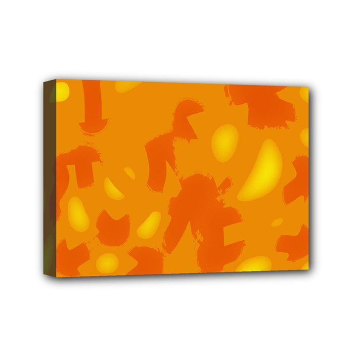 Orange decor Mini Canvas 7  x 5