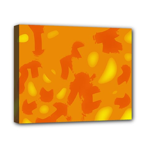 Orange decor Canvas 10  x 8