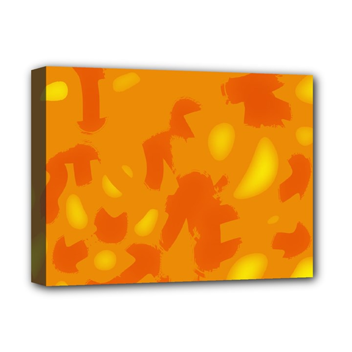 Orange decor Deluxe Canvas 16  x 12