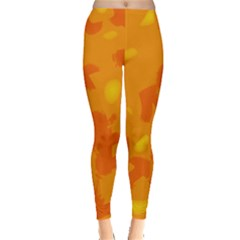 Orange Decor Leggings
