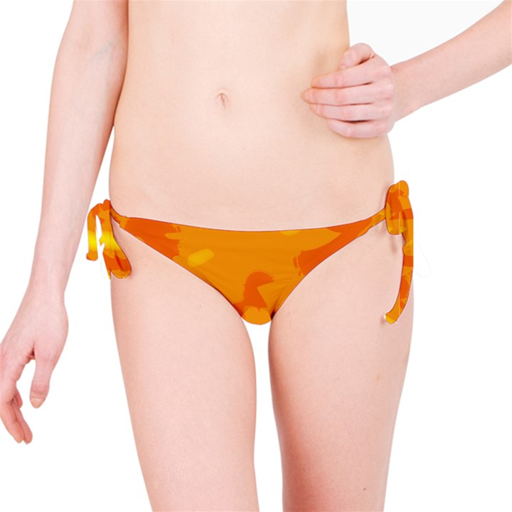 Orange decor Bikini Bottom