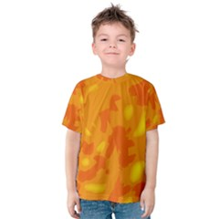 Orange decor Kids  Cotton Tee