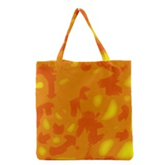 Orange decor Grocery Tote Bag