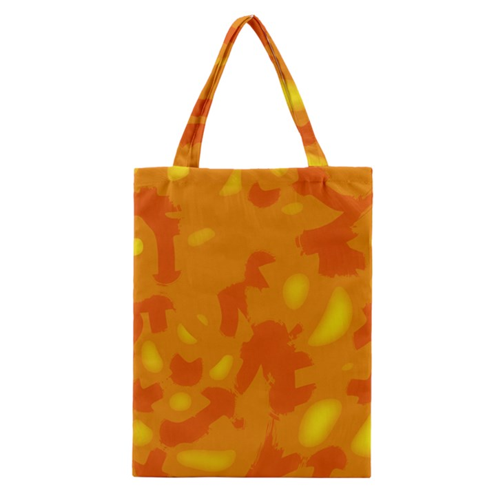 Orange decor Classic Tote Bag