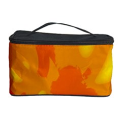 Orange decor Cosmetic Storage Case