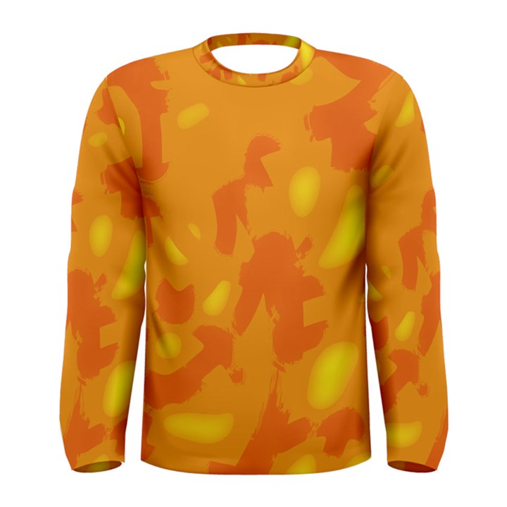 Orange decor Men s Long Sleeve Tee
