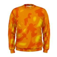 Orange Decor Men s Sweatshirt