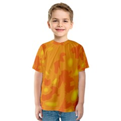 Orange Decor Kids  Sport Mesh Tee