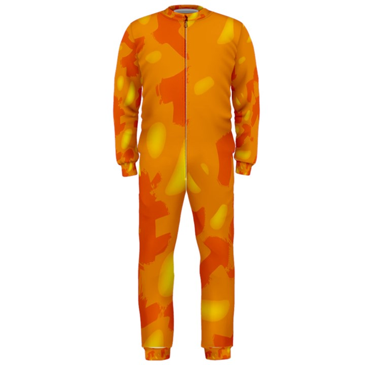 Orange decor OnePiece Jumpsuit (Men)