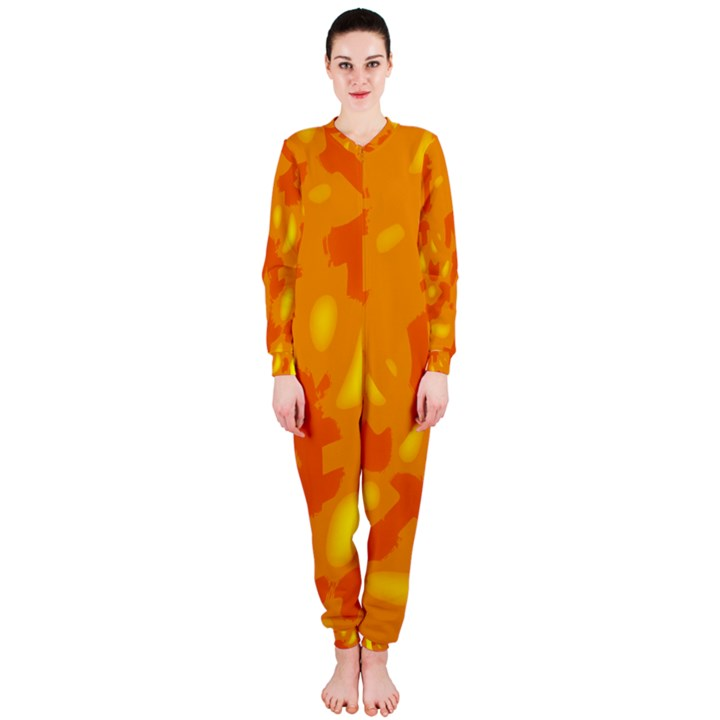 Orange decor OnePiece Jumpsuit (Ladies)