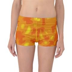 Orange Decor Boyleg Bikini Bottoms