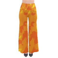 Orange Decor Pants