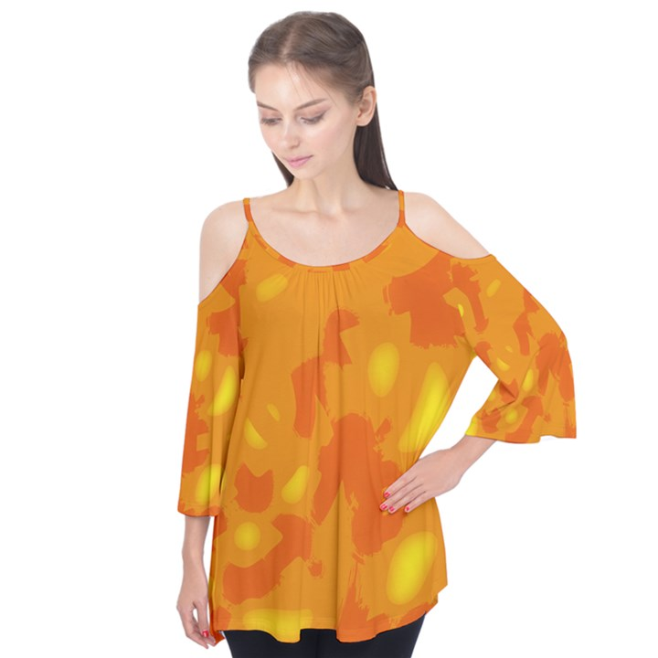 Orange decor Flutter Tees