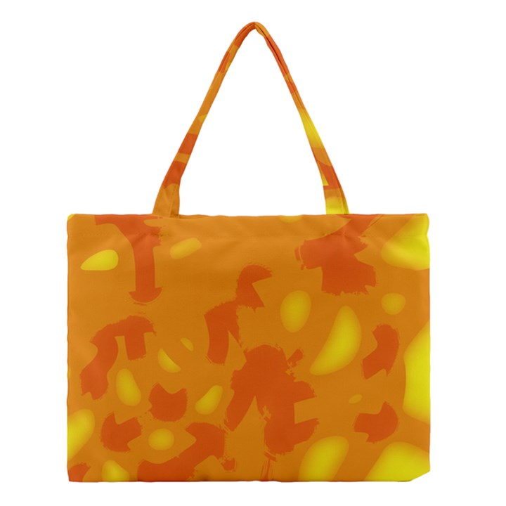 Orange decor Medium Tote Bag