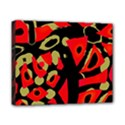 Red artistic design Canvas 10  x 8  View1