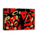 Red artistic design Deluxe Canvas 18  x 12   View1