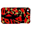 Red artistic design Apple iPhone 3G/3GS Hardshell Case View1