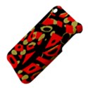 Red artistic design Apple iPhone 3G/3GS Hardshell Case View4
