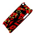 Red artistic design Apple iPod Touch 4 View4
