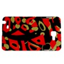 Red artistic design Samsung Galaxy Note 1 Hardshell Case View1