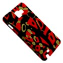 Red artistic design Samsung Galaxy Note 1 Hardshell Case View5