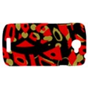 Red artistic design HTC One S Hardshell Case  View1
