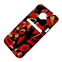 Red artistic design HTC Evo 4G LTE Hardshell Case  View4