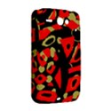 Red artistic design HTC ChaCha / HTC Status Hardshell Case  View2
