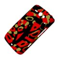 Red artistic design HTC ChaCha / HTC Status Hardshell Case  View4