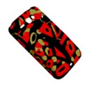 Red artistic design HTC ChaCha / HTC Status Hardshell Case  View5