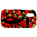 Red artistic design HTC Amaze 4G Hardshell Case  View1