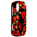 Red artistic design HTC Amaze 4G Hardshell Case  View2