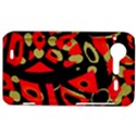 Red artistic design HTC Incredible S Hardshell Case  View1