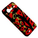Red artistic design HTC Incredible S Hardshell Case  View5