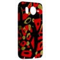 Red artistic design HTC Desire HD Hardshell Case  View2