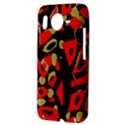 Red artistic design HTC Desire HD Hardshell Case  View3